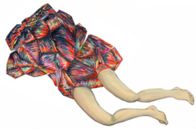 Naufus Ramírez-Figueroa, 'Sketch for sculpture', 2014