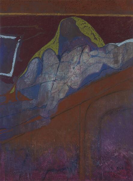 Otis Huband, 'Figure on a Roof', 2018