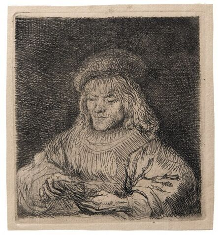 Rembrandt van Rijn, 'The Card Player', 1635