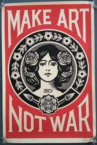 Shepard Fairey, 'Make Art Not War', 2020