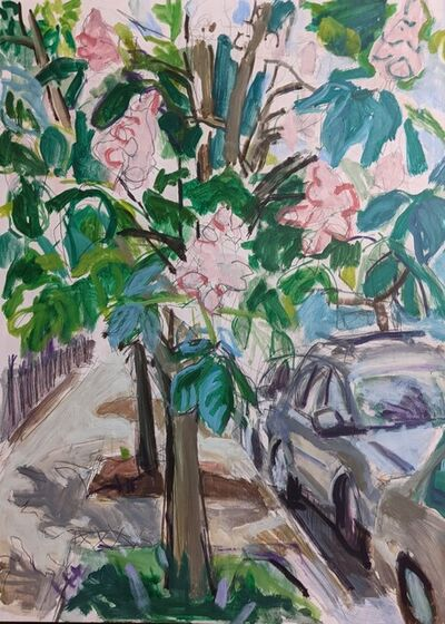 Naomi Nemtzow, 'Flowering Chestnut', 2021