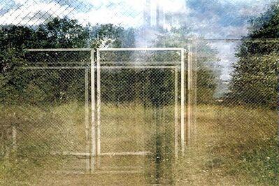 Leah Oates, 'Turku, Finland, Double Fence', 2005-06