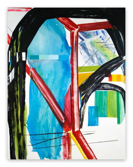 Laura Newman, 'Interior with Paint Chips (Abstract Expressionism painting)', 2016