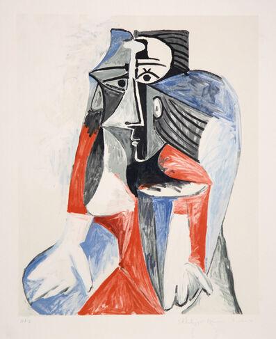 Pablo Picasso, 'Femme Assise', 1973-originally 1960