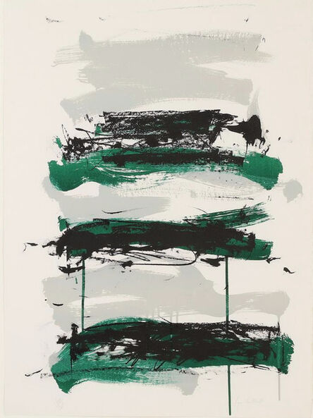 Joan Mitchell, 'Fields Series - Grey Composition IV', 1990