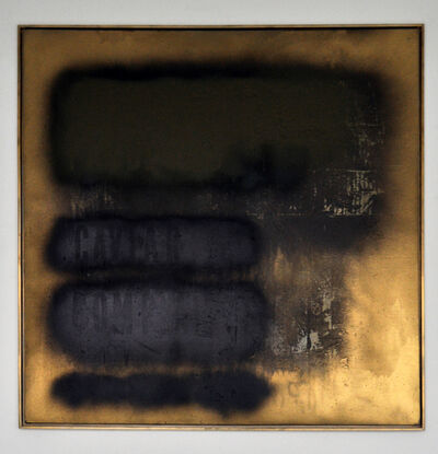 Michael Bevilacqua, 'Erased Memory (Gold Standard)', 2014