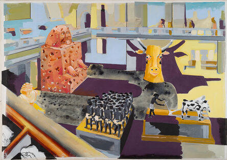 Stephen Farthing, 'The Museum of Agrarian Success: Cairo 2016/17 Cairo Museum, Cairo, Egypt '