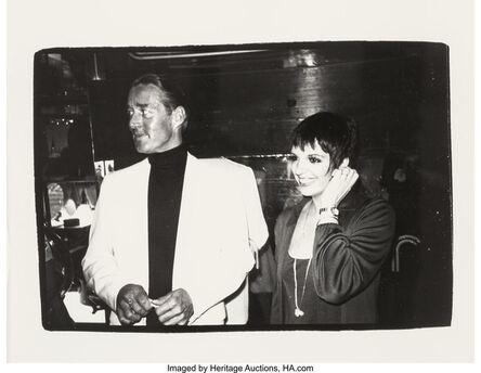 Andy Warhol, 'Halston and Liza Minnelli', circa 1980