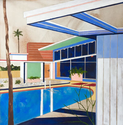 Charlotte Keates, 'Twin Palms ', 2017