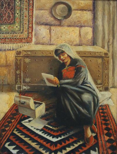 Baha' Boukhari, 'Reading Woman', 1995-2000