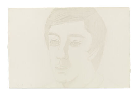 Alex Katz, 'Vincent with Open Mouth', 1974