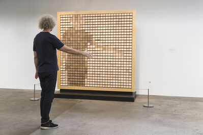 Daniel Rozin, 'Square Wooden Mirror 2', 1999-2020