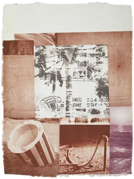 Robert Rauschenberg, 'Rookery Mounds-Gray Garden', 1979