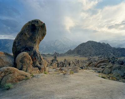 Doug Hall, 'Gene Autry Rock, The Alabama Hills, California', 2002