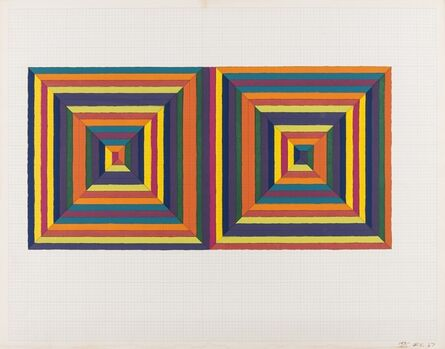 Frank Stella, 'Fortin de las Flores (First Version) (Axsom 0)', 1967