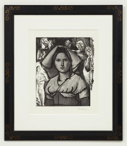 Pablo Picasso, 'L'Italienne', 1953