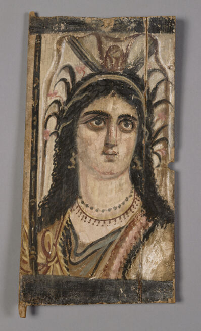 'Panel with Painted Image of Isis', 100