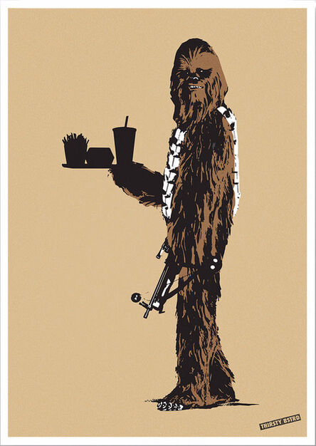 Thirsty Bstrd, 'Chewbacca Fast Food', 2017