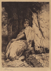 Thomas Moran, 'The Empty Cradle', 1880