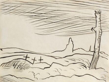 Paul Nash, 'Battlefield ', 1917