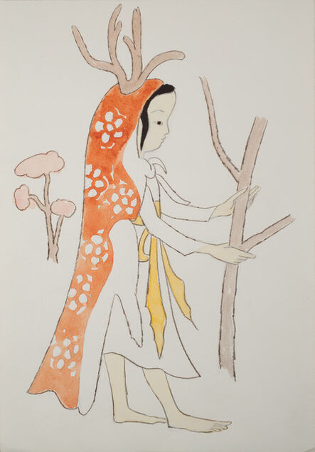 Liu Jude, 'Jiazi Saves the Deer', 1984