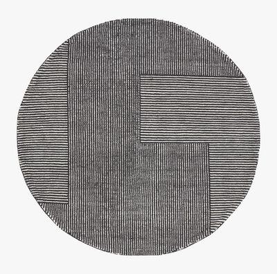 Tom Dixon, 'Stripe rug round', ca. 2019