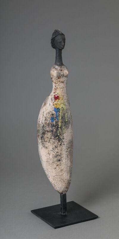 Etiyé Dimma Poulsen, 'Woman in white', ca. 2021