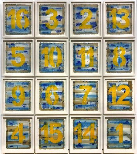 George Widener, 'Magic Square', 2016