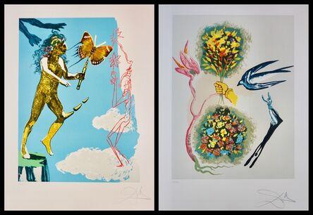 Salvador Dalí, 'Magic Butterfly & The Dream Suite', 1978