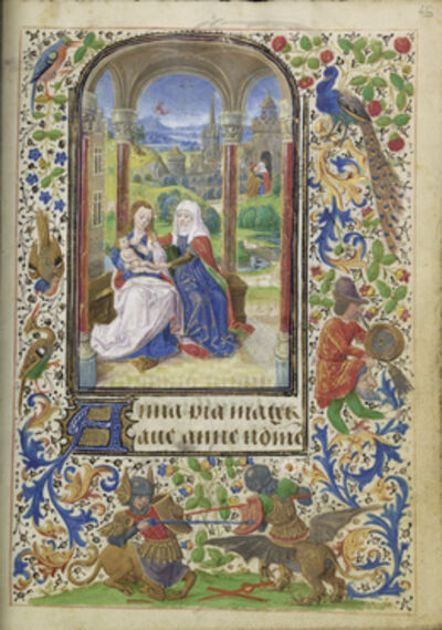 Lievan van Lathem, 'The Virgin and Child with Saint Anne', 1469