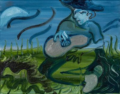 Brian Kokoska, 'Fiddler With Early Moon', 2020