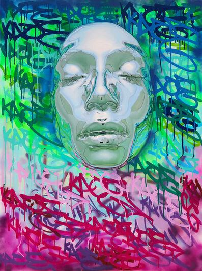 "Kip Omolade, '""Luxury Graffiti Kace I""', 2020"