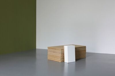 Claude Rutault, 'de-finition/method. horizontal/vertical, theme 5 of 'from stack to stack'', 1989-1990