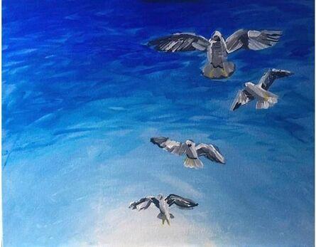 David Reardon, 'Seagulls', 2019