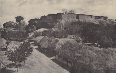 Linnaeus Tripe, 'The Hill Fort at Trimium, Poodocottah, India', 1858