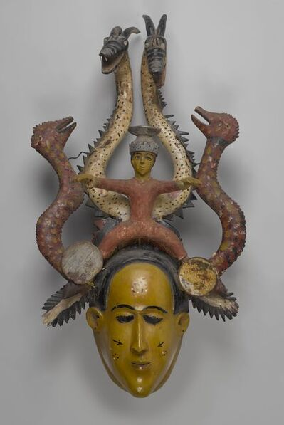 Unidentified Temne Artist, 'Ode-Lay Mask', mid-20th century