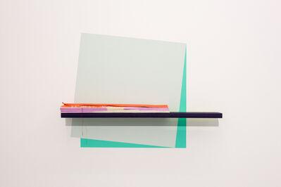 Ingunn Fjóla Ingþórsdóttir, 'Painted Angles (Folded Canvas)', 2017