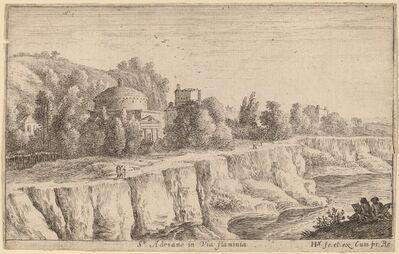 Herman van Swanevelt, 'Church of San Adrian on the Via Flaminia'