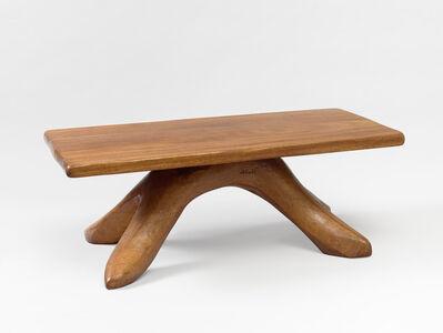 Alexandre Noll, 'Walnut coffee table', ca. 1947