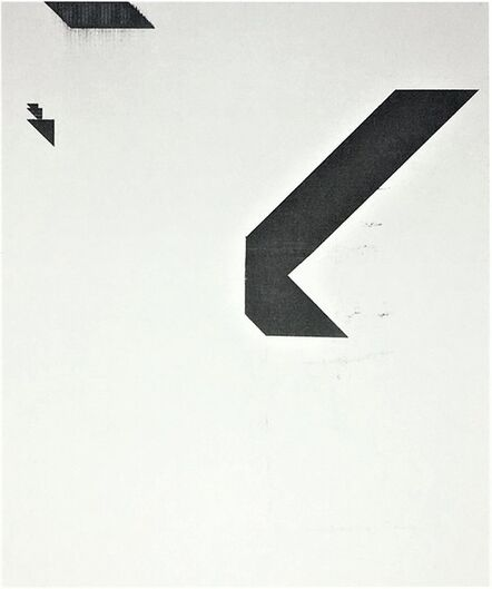 """Wade Guyton, '""""X"""" (Untitled, 2005, Epson Ultrachrome inkjet on linen), 2015, Signed and Numbered, Edition of 100', 2015"""