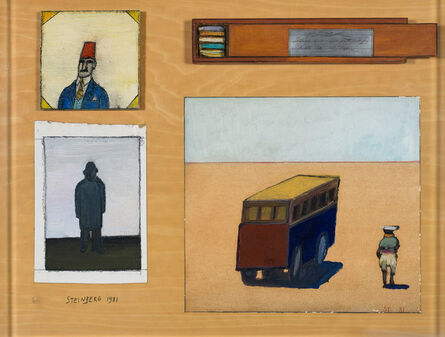 Saul Steinberg, 'Cairo Table', 1981