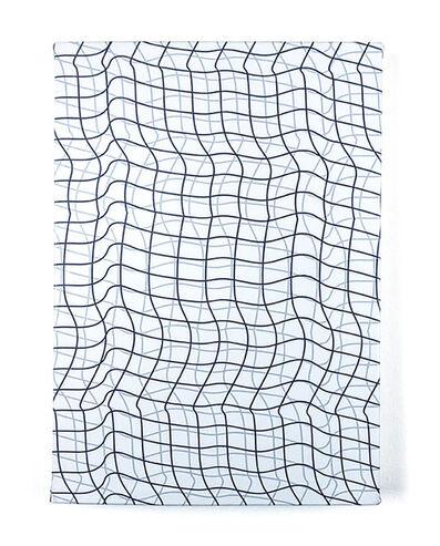 "Timothy Harding, '19"" x 13"", Flipped Grid', 2018"