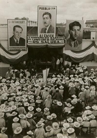 Manuel Álvarez Bravo, 'Untitled (Political Rally)', ca. 1946