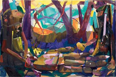 Dana Schutz, 'Hand', 2004