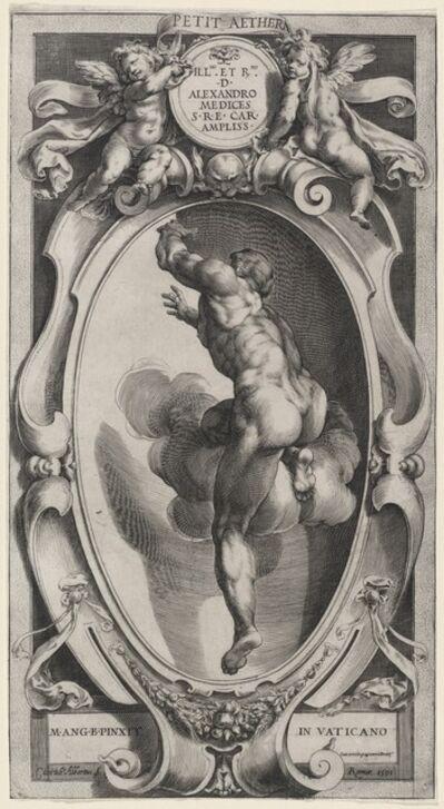 Cherubino Alberti after Michelangelo, 'A Blessed Spirit', 1591