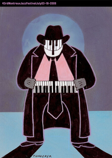 Tomi Ungerer, 'Montreux Jazz Poster', 2009