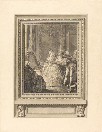 Charles Emmanuel Patas after Charles Eisen, 'Le jour'
