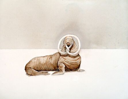 Justin Gibbens, 'Bavarian Walrus i', 2017