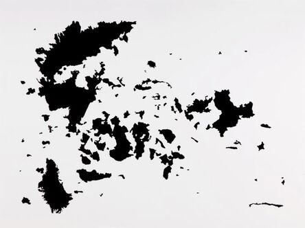 Carlos Amorales, 'Useless Wonder Maps 4', 2010