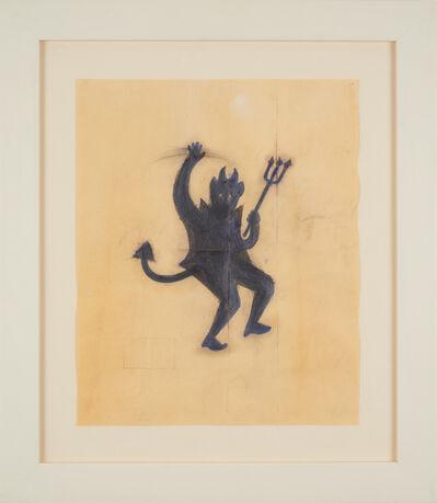 Robert Therrien, 'No title (purple devil)', 1991